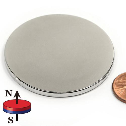 "2""X1/8"" N42 Neodymium Magnet"