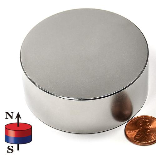 "2 1/2x1"" Rare Earth Magnet"