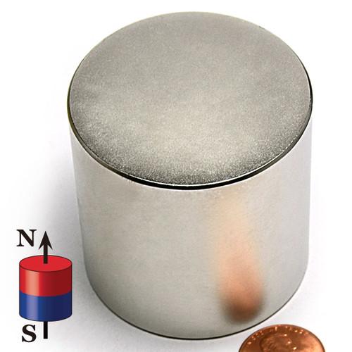 "2""X2"" N42 Disk Neodymium Magnet"