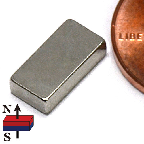 "4/10""X2/10""X1/10"" NdFeB Rare Earth Magnets"