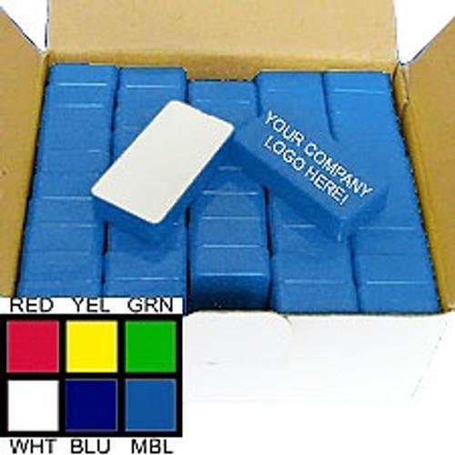 50 Piece Medium Blue Magnetic Whiteboard Holders