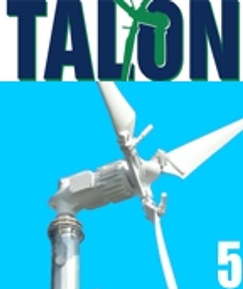 TALON5 5KW Wind Generator System Grid-Tied System w/ 30' Mono Tower