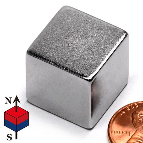 """3/4"""" Neodymium Rare Earth Cube Magnet"""