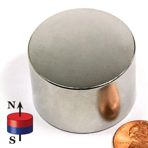 "1.5X1"" Neodymium Magnet N45 Disc"