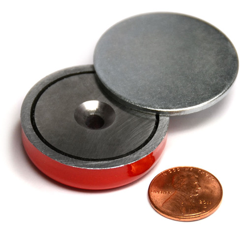 AlNiCo Magnetic Round Base Magnet