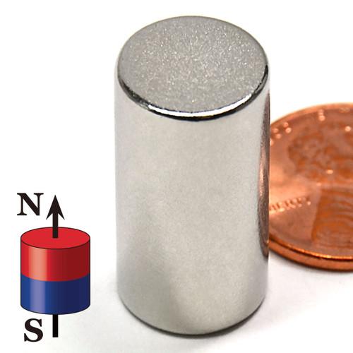 """N52 Cylindrical 1/2X1"""" NdFeB Rare Earth"""