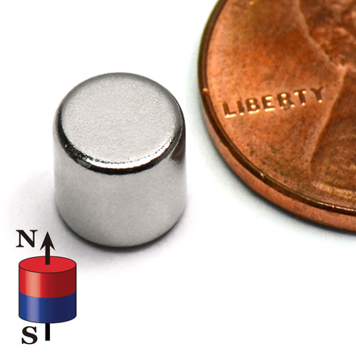 "1/4""X1/4"" NdFeB Rare Earth Disc"