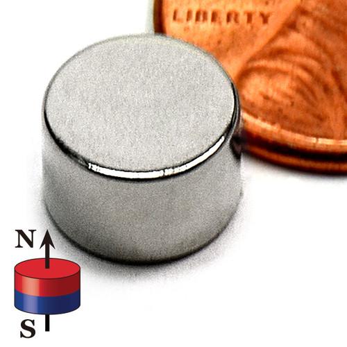 """N52 3/8""""X1/4"""" Rare Earth"""