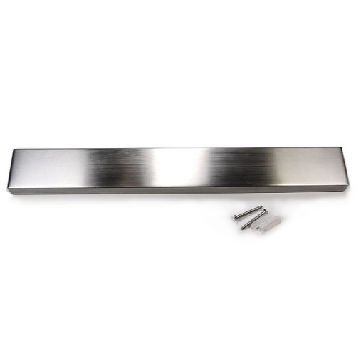 Kitchen Knife Strip Made of Strong Magnet and Stainless Steel
