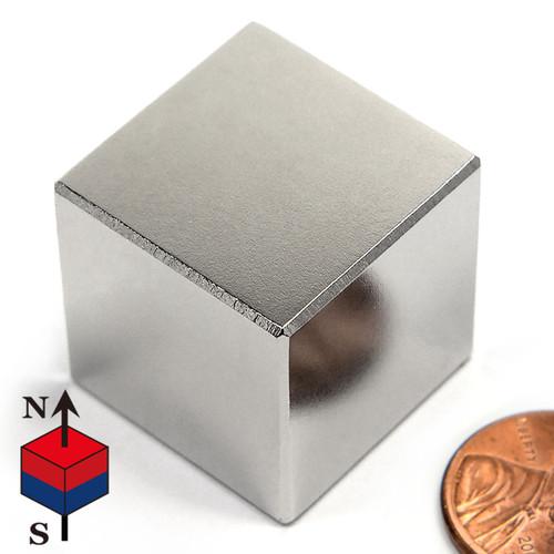 """1"""" Neodymium Rare Earth Cube Magnet"""