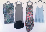 Wholesale Smaller Lot of 47 High End Womens Apparel Clothing Mixed Brands Sizes Styles Brand New Manifested