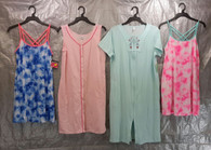 Wholesale Lot of 100 Assorted Sleep Tops Gowns Dresses Pajama Sleepwear Womens Mixed Sizes