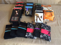 Wholesale Lot of Assorted Panty Hose, Knee Highs,Tights Mixed Sized & Brands 45 Pieces