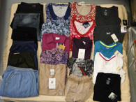 Wholesale Lot of Assorted Brand New Plus Size XL-4X Womens Clothing 100 Pieces