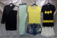 Wholesale Lot of Assorted Sizes S - L Women Clothing, BRAND NEW 100 Pieces