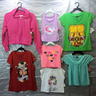 Wholesale Sample Lot Assorted Brand New Children's Clothing (GIRL), 50 Tops Only