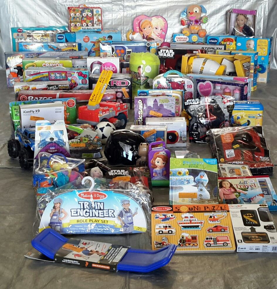 Wholesale Manifested Pallet Of 79 Kids Toys & Collectibles