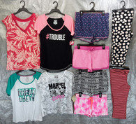 Wholesale Lot of 100 Assorted Sleep Tops bottoms Pajamas Sleepwear Womens Mixed Sizes