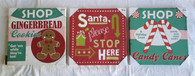 Wholesale Resale Lot of 14 Holiday Christmas Decorative Paintings Wall Hangings Brand New