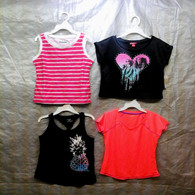 Wholesale Sample Lot Assorted Brand New Children's Clothing GIRL 100 Tops