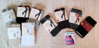 Wholesale Lot of 52 Womens Fashion, Sweater and Fleece Lined Tights Pantyhose Mixed Sizes Styles Brand New