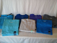 Wholesale Lot of 98 Mens Basic Editions Plain Pocket T-Shirts Tees mixed sizes colors Brand New Manifested