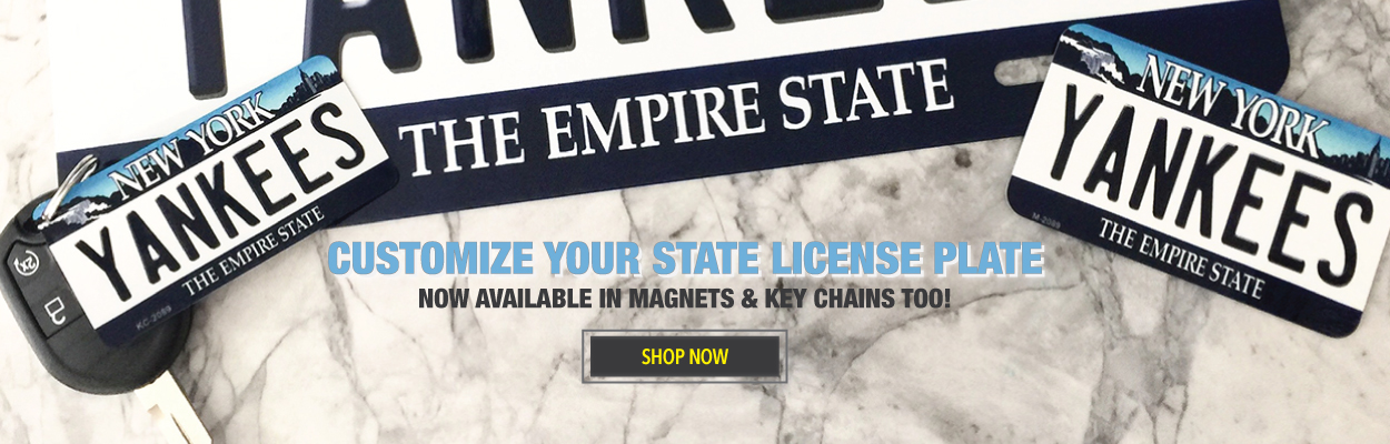Custom Personalized License Plate Tags, Signs, Key Chains, Magnets ...