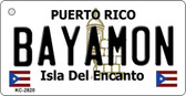 Bayamon Puerto Rico Flag Novelty Key Chain