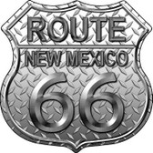 Route 66 Diamond New Mexico Metal Novelty Highway Shield