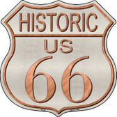 Historic Route 66 Metal Novelty Highway Shield