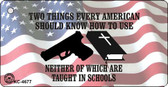 Neither Are Taught In School Novelty Key Chain