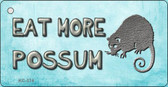 Eat More Possum Novelty Key Chain