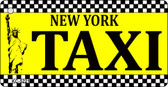 New York Taxi Novelty Key Chain