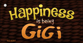 Happiness Is Being Gigi Novelty Key Chain