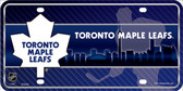 Toronto Maple Leafs Metal Novelty License Plate