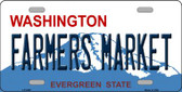 Farmers Market Washington Novelty Metal License Plate