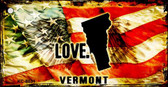 Vermont Love Novelty Metal Key Chain