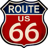 Route 66 Vintage Metal Novelty Highway Shield