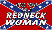 Redneck Woman Novelty Metal Magnet
