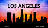 Los Angeles Silhouette Novelty Metal Magnet