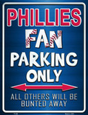 Phillies Metal Novelty Parking Sign