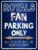 Royals Metal Novelty Parking Sign