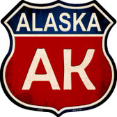 Alaska Metal Novelty Highway Shield