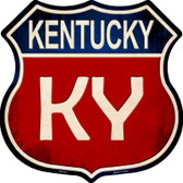 Kentucky Metal Novelty Highway Shield