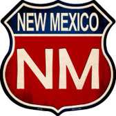 New Mexico Metal Novelty Highway Shield