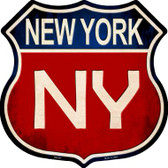 New York Metal Novelty Highway Shield