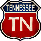 Tennessee Metal Novelty Highway Shield