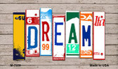 Dream Wood License Plate Art Novelty Metal Magnet