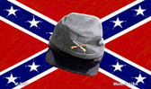 Confederate Cap Novelty Metal Magnet