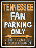 Tennessee Metal Novelty Parking Sign
